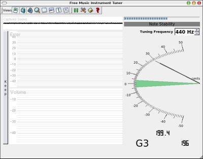 FMIT - Free Music Instrument Tuner