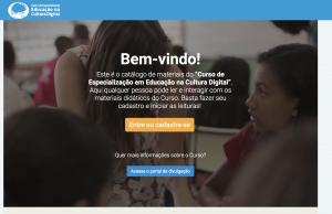 WebSite - Welcome Screen